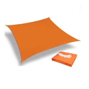 voile ombrage 3x2 orange